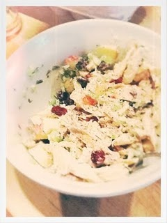 Chicken salad with apples, Chicken salads and Dried cranberries on ...