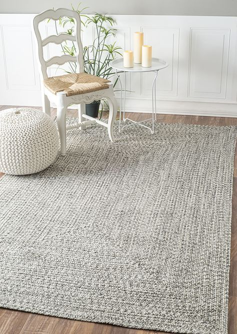 A lovely chunky knit grey by Rugs USA!