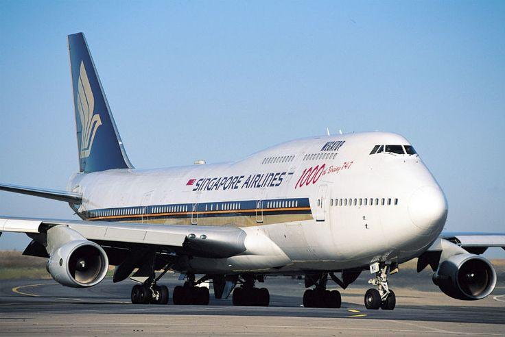 Boeing 747-412 Number 1,000, Singapore Airways 9V-SMU (Flightglobal AirSpace)