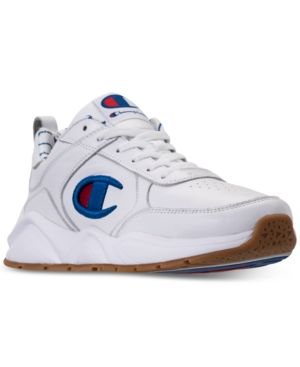 454b791ad Champion Men s 93Eighteen Athletic Training Sneakers from Finish Line -  White 10 in 2019