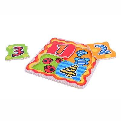 Bigjigs toys Moje prvé počítacie puzzle