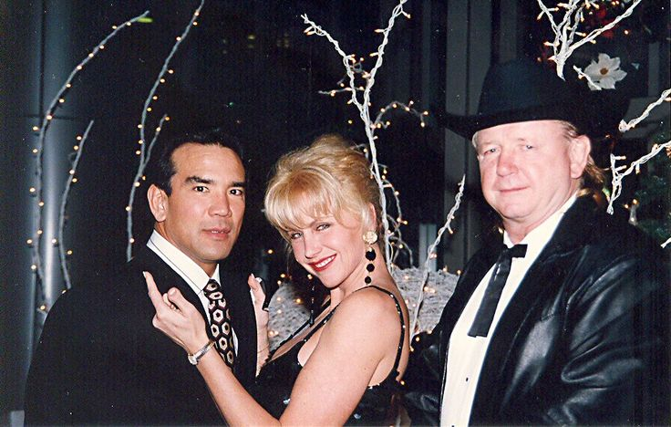 Ricky Steamboat amp His Ex wife Bonnie Hastings Old WWF