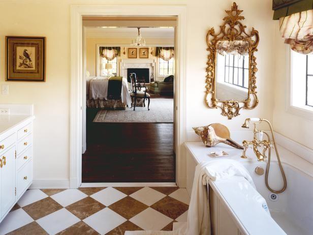 Master Bathroom and Bedroom