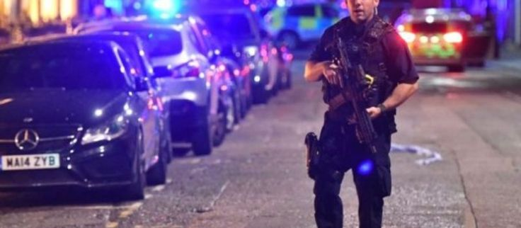 """LONDON — A van has reportedly plowed into 20 people in a suspected 'terror attack' on London Bridge station, amid reports of 'rapid gunfire.' FROM BBC BBC reporter Holly Jones, who was on the bridge at the time of the incident, said the van was driven by a man and was """"probably travelling at about 50 miles an hour"""". """"He swerved right round me and then hit about five or six people. He hit about two people in front of me and then three behind,"""" Ms Jones told the BBC News Channel. Five or six…"""