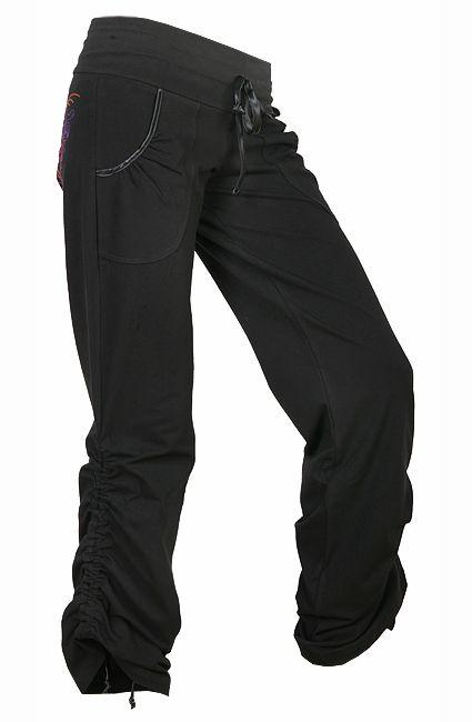 DÁMSKÉ OBLEČENÍ | Taneční DLOUHÉ kalhoty | Sportovní kalhoty GLOSSY | freestyle-dance.cz