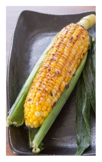 Grilled butter miso corn | Freption | Pinterest