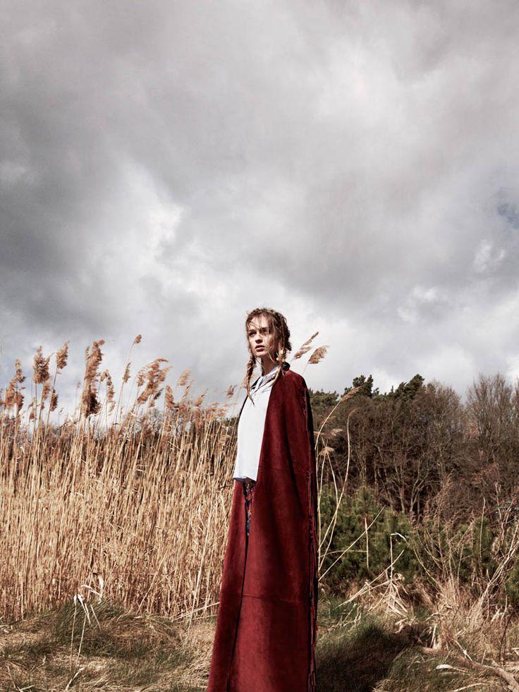 daga ziober 2014 2 Field of Dreams: Daga Ziober by Nicolas Kantor for QVEST #62