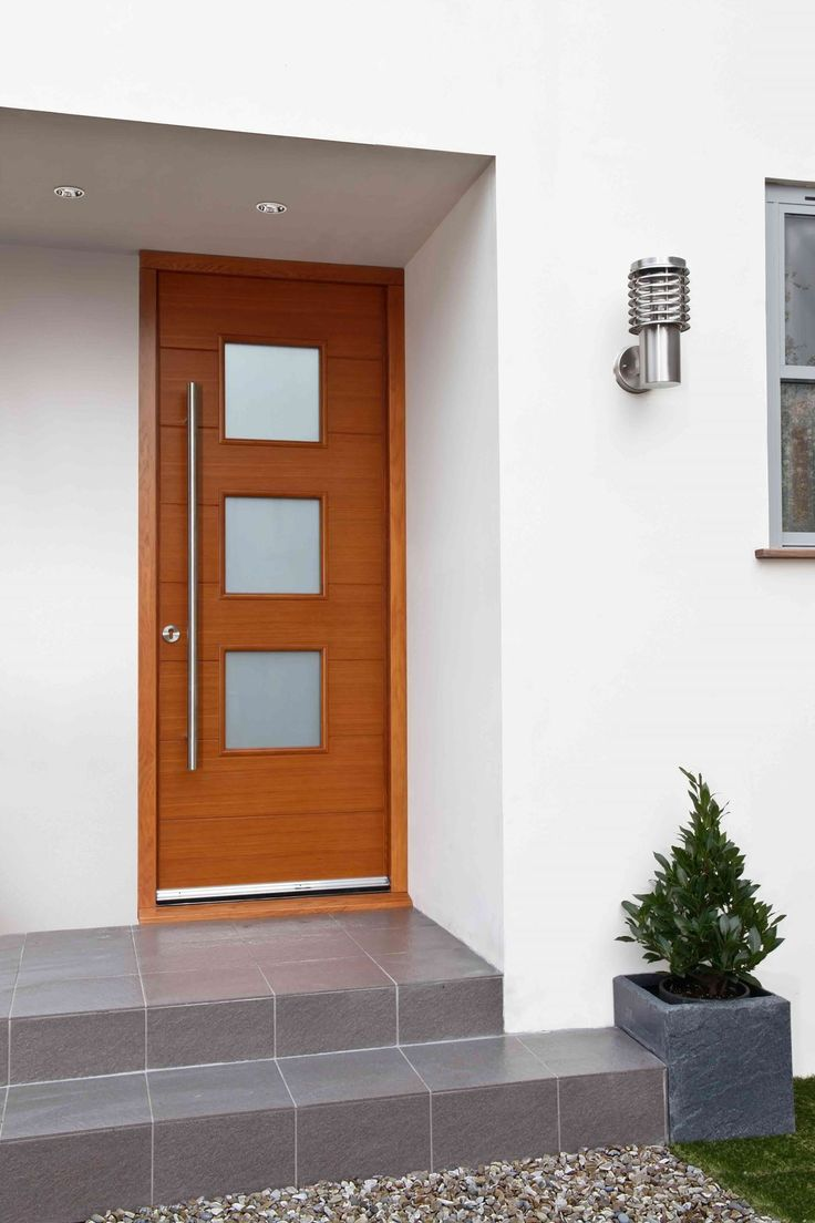 BREMEN Part of our new contemporary Oak front door range this door has been designed & 48 best External Doors images on Pinterest | External doors Range ... pezcame.com