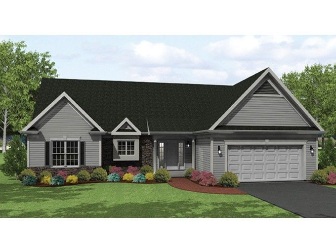 Eplans Ranch House Plan Roomy Ranch With Style 1649