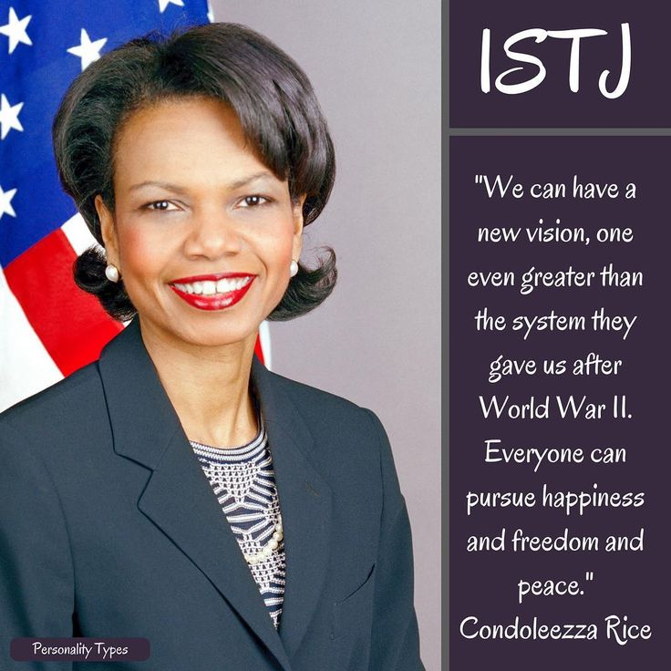 Condoleezza Rice Quotes: 25+ Best Ideas About Istj Personality On Pinterest