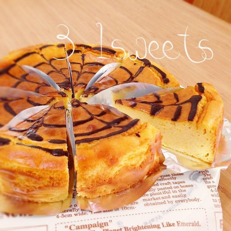 ♡混ぜるだけ♡さつまいものクリームチーズケーキ♡