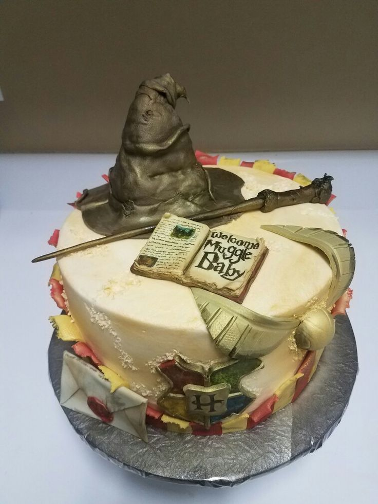 harry potter baby shower cake harry potter