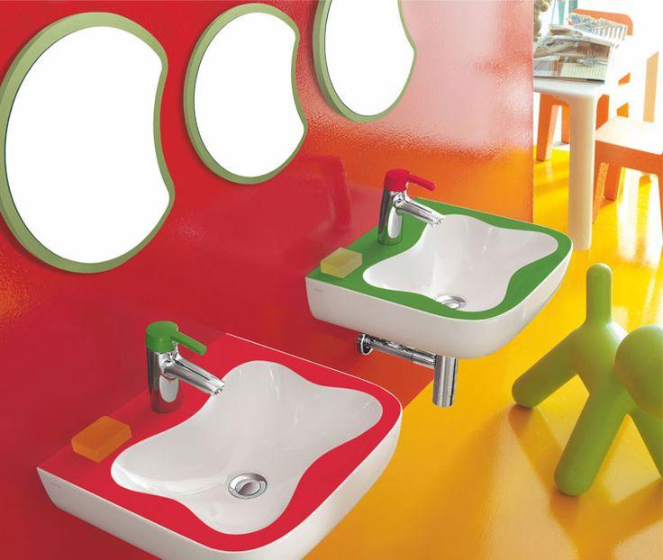 Detská kúpeľňa FloraKids... Viac na: Kupelnovy-manual.sk