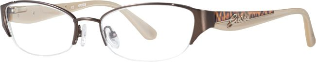 Guess Brown Cat Eye Frames for Women | Visionworks