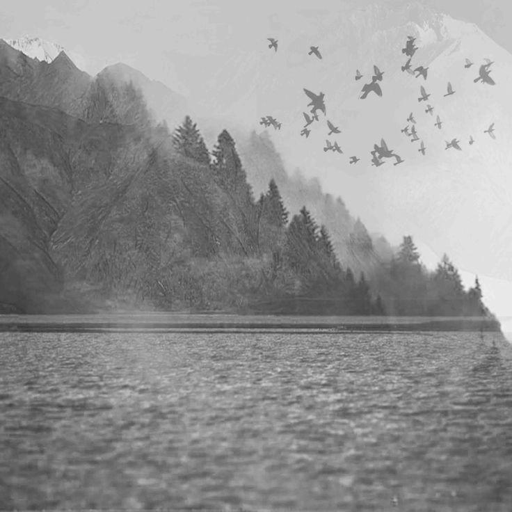 James Mclean Mixed Media Departure Medium: Photography + Digital Manipulation Size: 100cm x 100cm