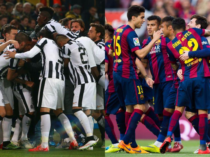 2015-2016 CL : 6日、ドイツのベルリンで開催されるチャンピオンズリーグ決勝でユヴェントスとバルセロナが激突する。UEFA(欧州サッカー連盟)の公式サイト『UEFA.com』が···