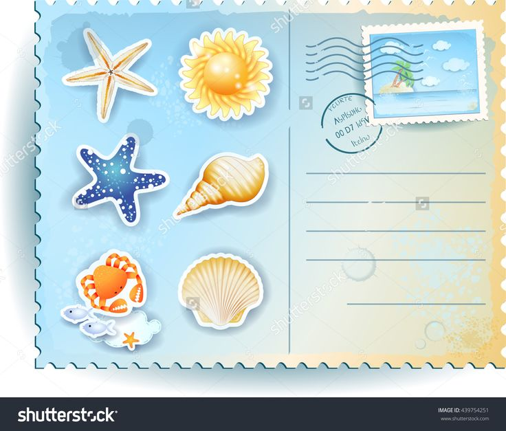 New! :)  #summer #postcard #vector #template #icon #beach #sea #shell #holiday #vacation #background http://www.shutterstock.com/pic-439754251/stock-vector-summer-postcard-with-icons-vector-illustration.html?src=pp-same_artist-439754248-1&ws=1