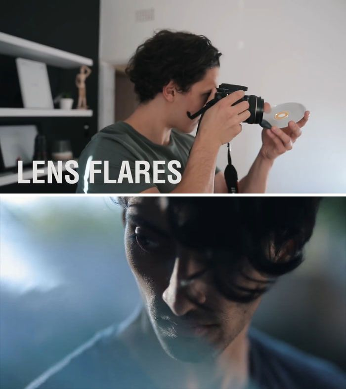 #15  Use A CD To Create Lens Flares