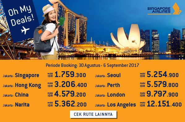 Tiket Pesawat Murah: Harga Tiket Promo, Hotel & Tour. Dapatkan Tiket Pesawat Singapore Airlines untuk tiket penerbangan murah ke berbagai penjuru dunia https://www.ezytravel.co.id/promo/tiket-murah-SQ #vacation #tips #blog #blogging #article #cheapflight #flight #best #traveltips #travelbudget #budgettravelling #story #promo #design #promodesign