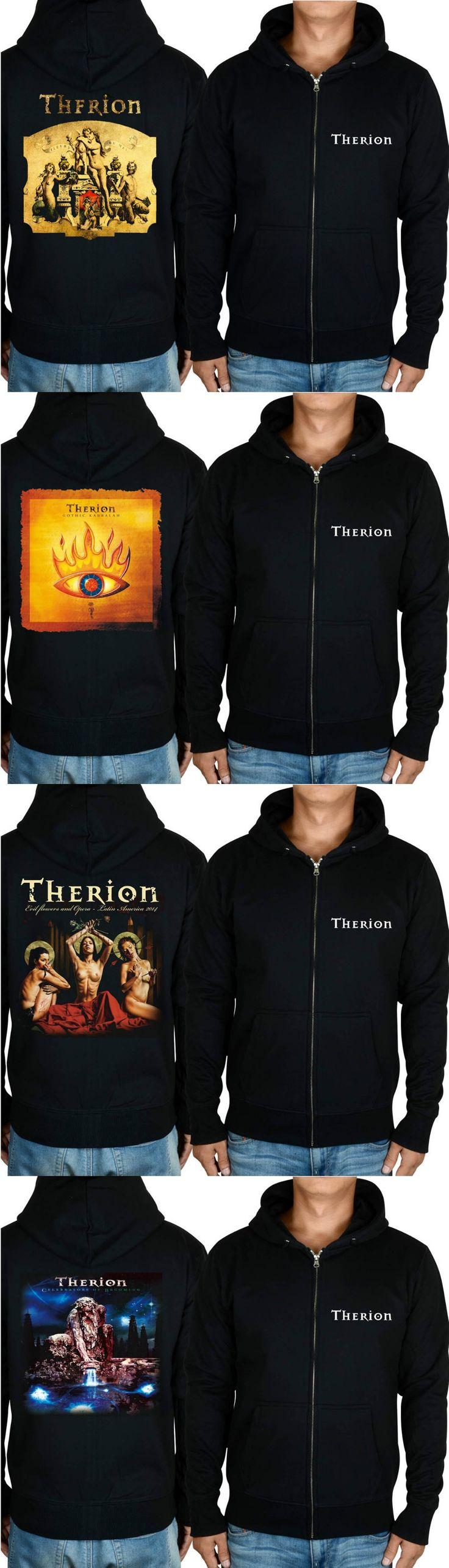 Therion death metal Gothic Kabbalah ablum  symphonic metal  black new hoodie