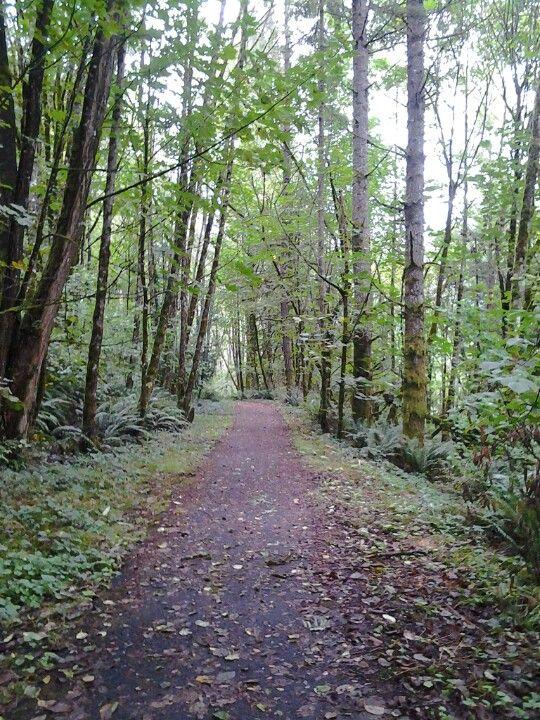 My favorite trail, Camas, WA