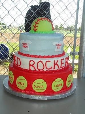 softball cake idea
