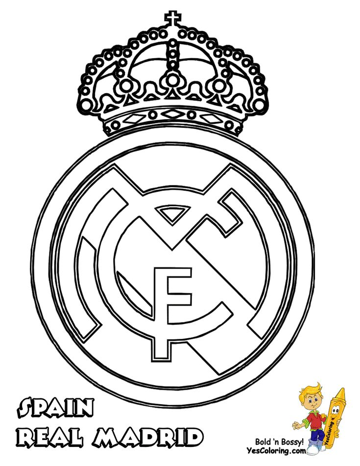 Free Manchester United Badge Coloring Pages