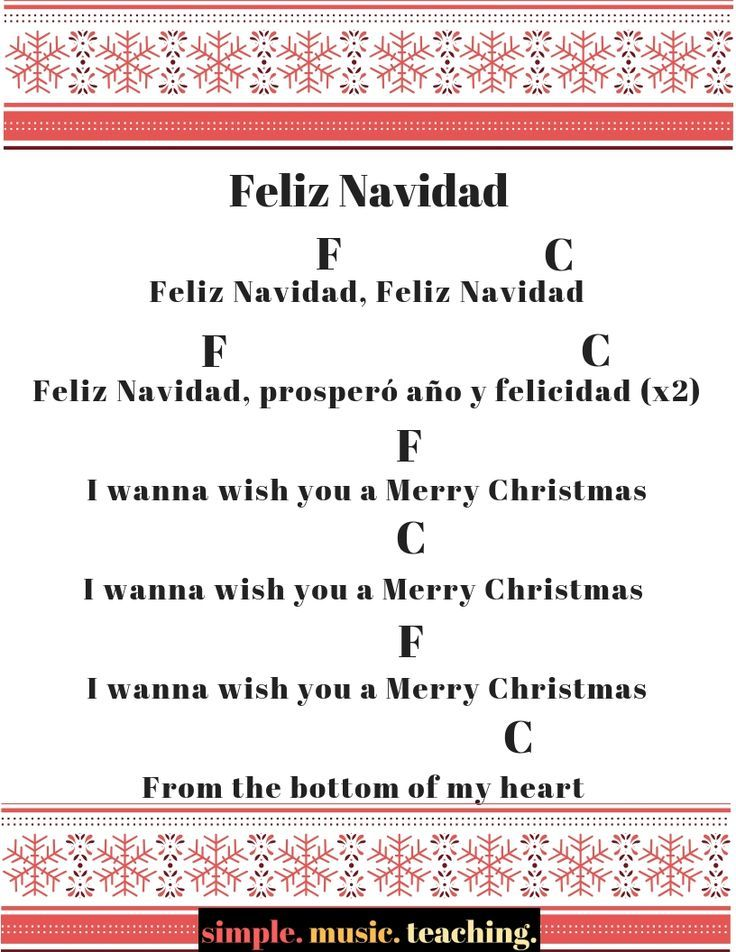 Feliz Navidad With Only 2 Chords For Beginner Ukulele Check Out The Rest Of The Christmas Carols Ukulele Songs Beginner Ukelele Songs Christmas Ukulele Songs