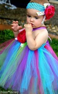 Baby Girl Tutu Dress Birthday Party