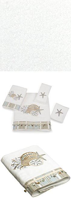 Avanti Bath Towels. Avanti Linens By The Sea Bath Towel, White.  #avanti #bath #towels #avantibath #bathtowels