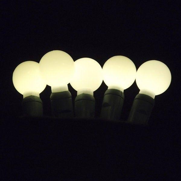 glow balls g20 premium retail grade 35 led christmas light string green wire 124 - Lead Free Christmas Lights