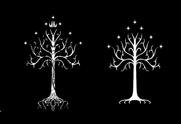 http://www.lotrplaza.com/showthread.php?22731-The-White-Tree-of-Gondor-Crownless-or-Crowned