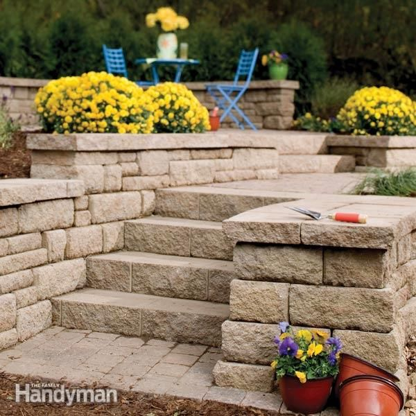How to Choose Modular Concrete Block. Sorting out the options. Modular concrete blocks for retaining walls and garden projects are available in a huge range of styles and prices. This article surveys the choices and explains the options. By the DIY experts of The Family Handyman Magazine