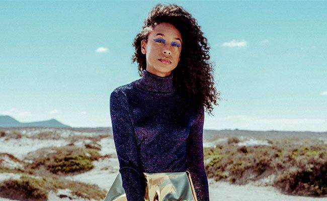 Corinne Bailey Rae on The Heart Speaks in Whispers.
