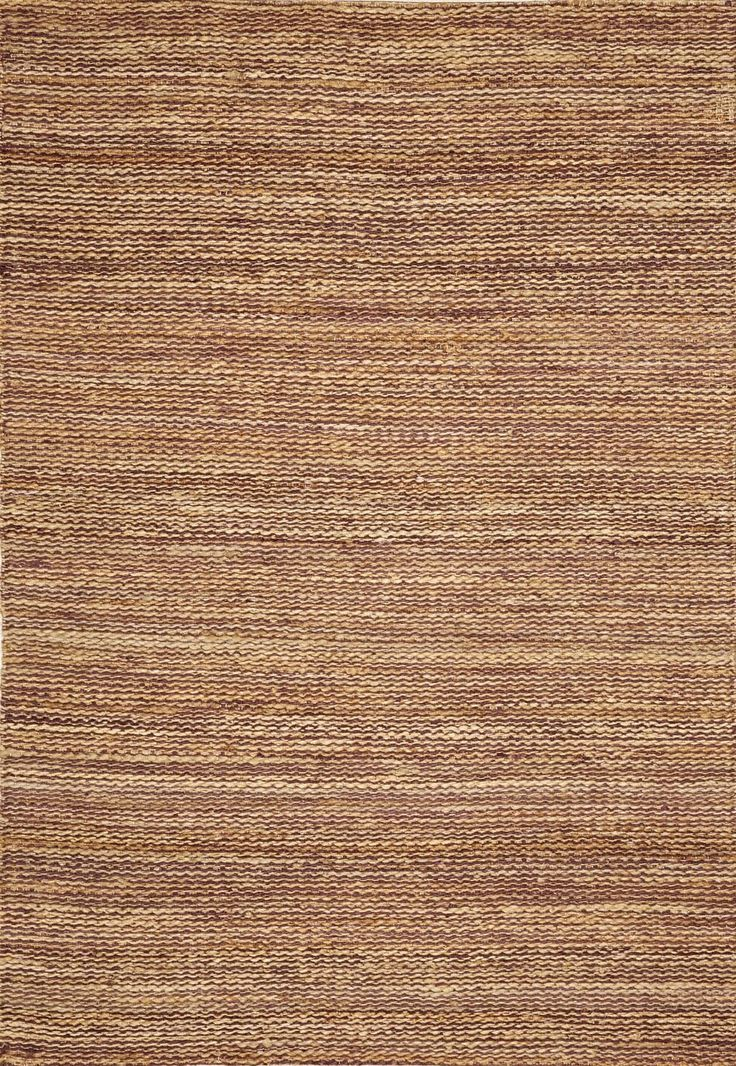 Banyan BN100 Eggplant Striped Rug