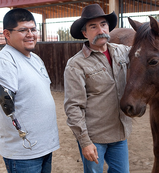horse therapy to help veterans suffering from PTSD  Healing Power of Horses