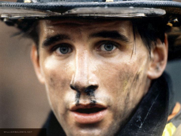 William Baldwin in Backdraft, taylor loved this movie...Probie....