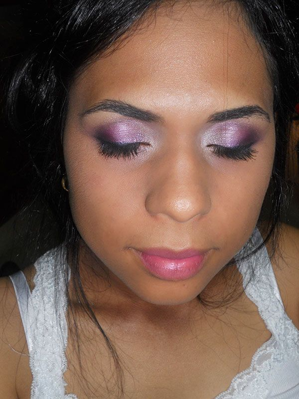 Makeup for photoshoot
