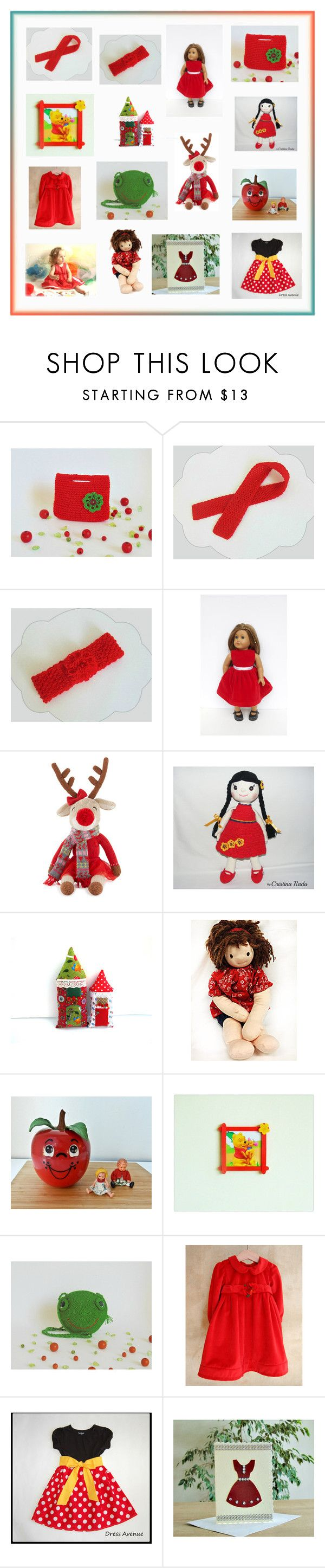 """""""Etsy gifts for Toddler Girls"""" by styledonna on Polyvore featuring Zubels, Fisher Price, Disney, outfit, etsy i outfits"""