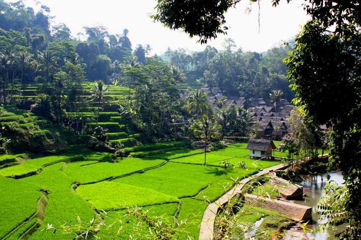 Kampung Naga - tradisional village of the Sundanese people in West Java, Indonesia