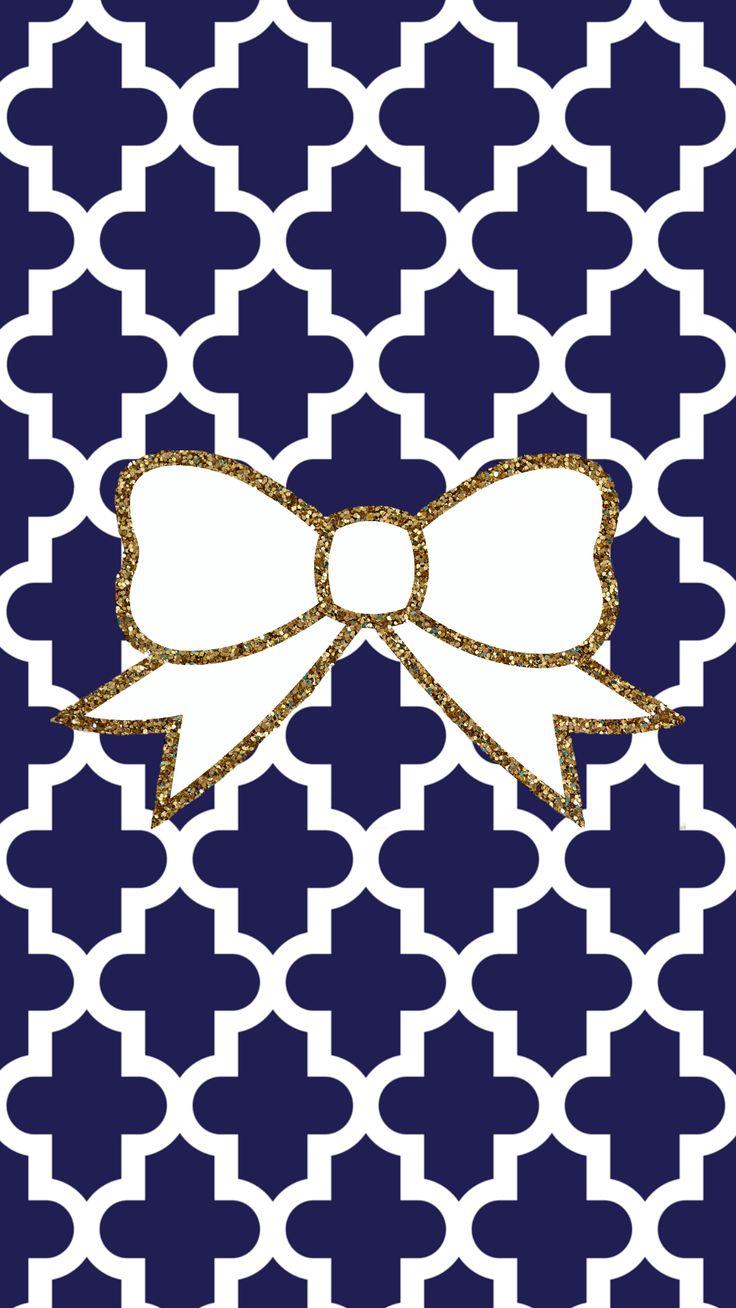 Navy blue and gold glitter bow FREE Tech wallpaper http://iphonetokok-infinity.hu http://galaxytokok-infinity.hu http://htctokok-infinity.hu