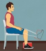 Mit diesen einfachen Knieübungen stärken Sie Ihre Oberschenkelmuskulatur und entlasten Ihr Kniegelenk. Starten Sie noch heute mit der Kniegymnastik, damit Knieschmerzen keine Chance haben!