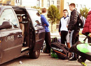 Atletas da Felner Academy de partida para os torneios future do Algarve!! Boa sorte a todos!!