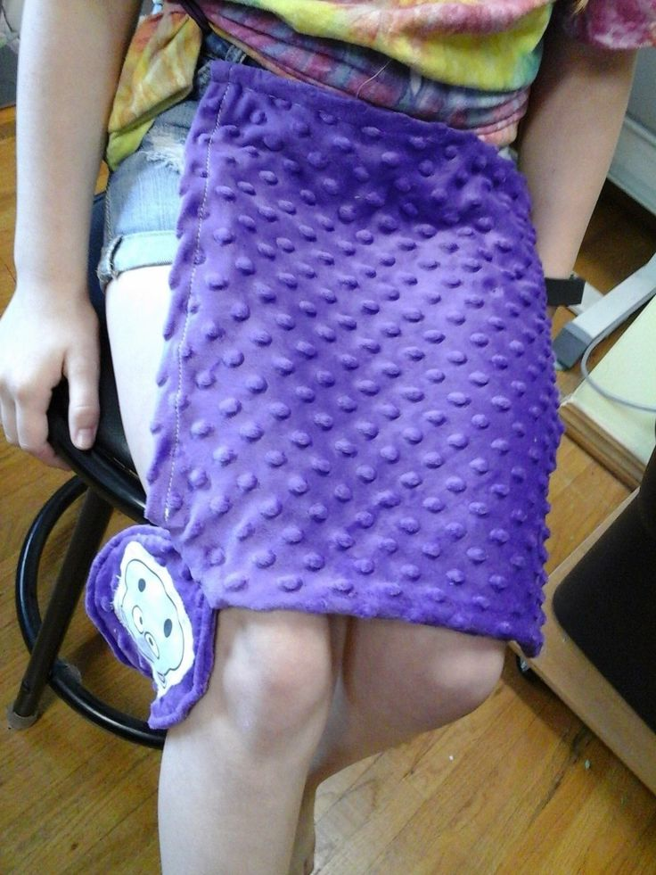 Hippo Weighted Lap Pad for calming anxiety, helps person to be able to focus.