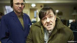 Derek - Ricky Gervais new comedy/drama  I really loved the pilot. Can't wait for more.