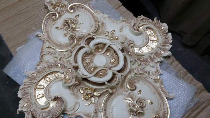 Stucco decorato R 906 A.S.F. gold oro foglia 5