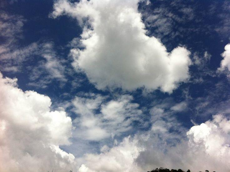 Cielo-Nubes algodón