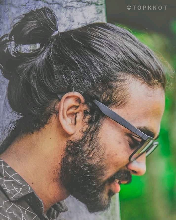 Bun Hairstyle With Lehenga: 101 Men's Top Knot Haircut Ideas That You Need To Try! In