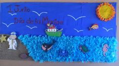 """Periodico mural: """"1 de Junio Dia de la Marina"""" Colegio Bilingüe Crece"""