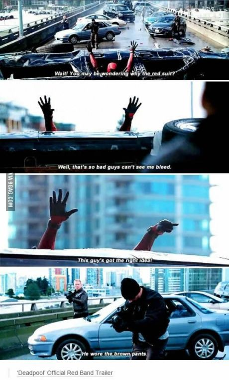 Deadpool is my all time favourite character in the marvel universe; hilarious